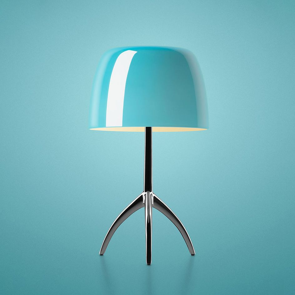 Lumiere Table Lamp By Foscarini In 2020 Modern Furniture Shops Glass Lamp Lamp