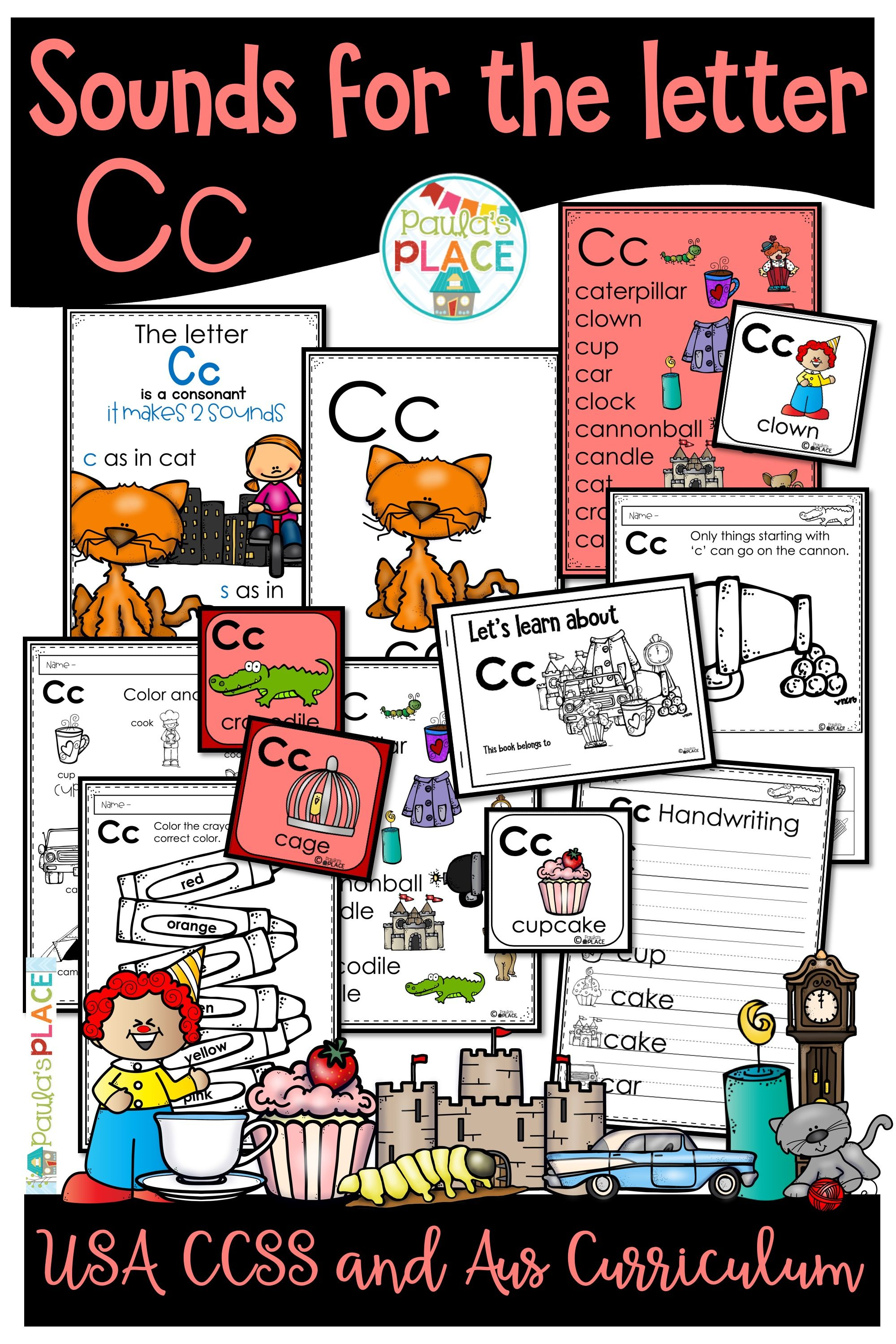 Phonics Let S Look At The Letter And Sounds For Cc