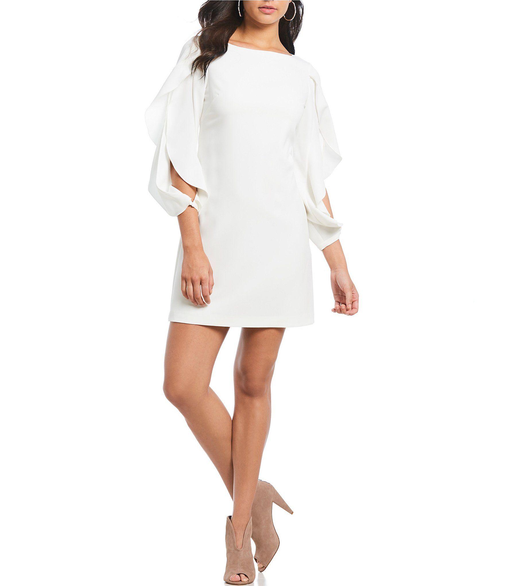 6ce1b1afa0d Advertisement  Shop for Vince Camuto Ruffle Split Sleeve Shift Dress at  Dillards.com. Visit Dillards