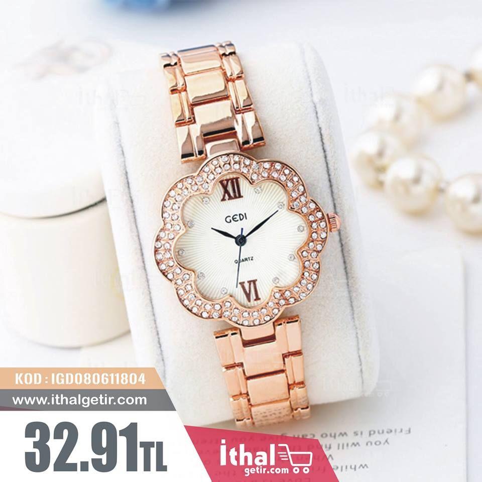 Gedi Kadin Kol Saati Modelleri Igd080611804 32 91tl Ithalgetir Com Kadin Saat Kadin Watches