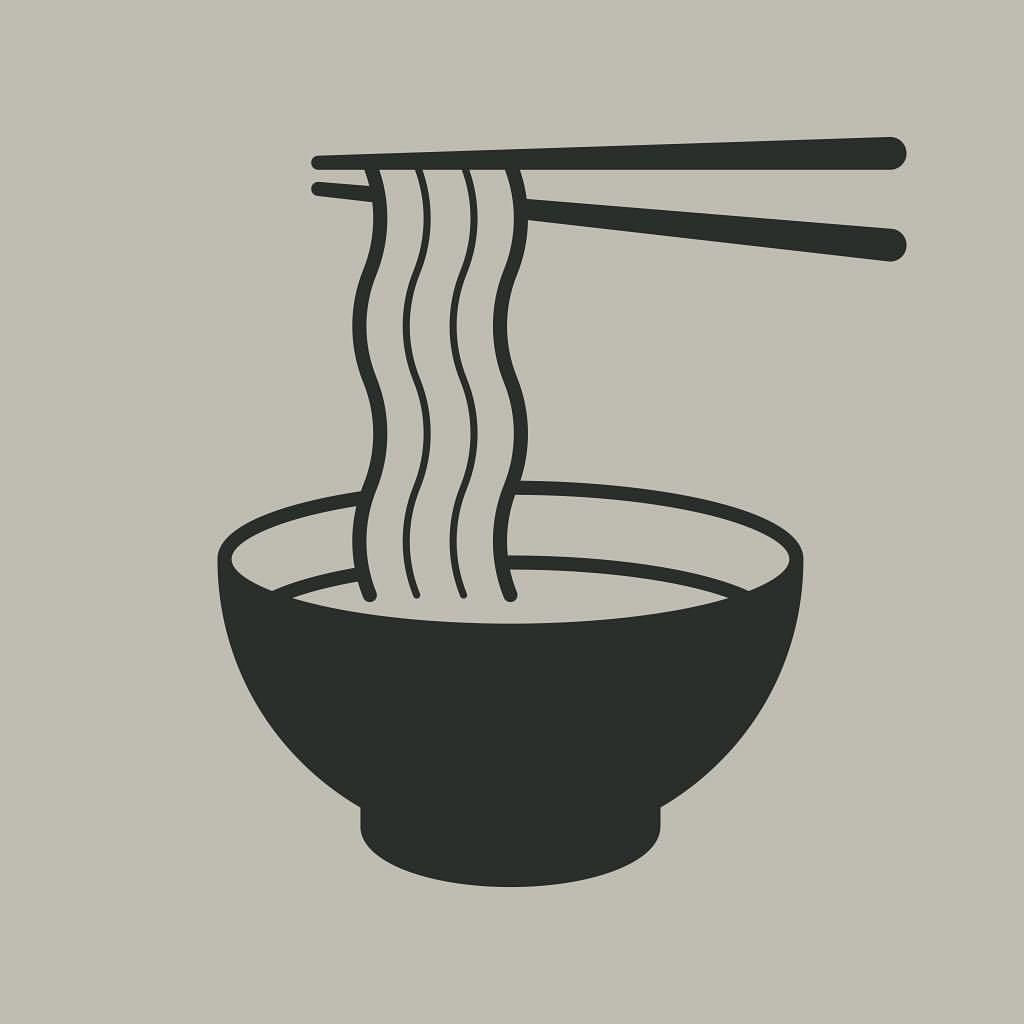Had To Try Redraw And Simplify The Ramen Noodles Soup Pictogram Duotone Eat Lunch Nippon Tradit Noodle Art Food Graphic Design Food Tattoos