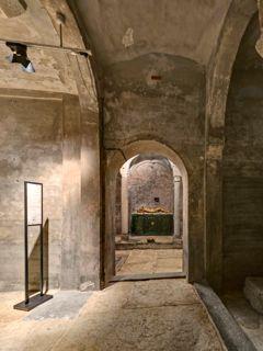 La cripta di San Sepolcro si riapre alla città: le spettacolari immagini a 360 gradi
