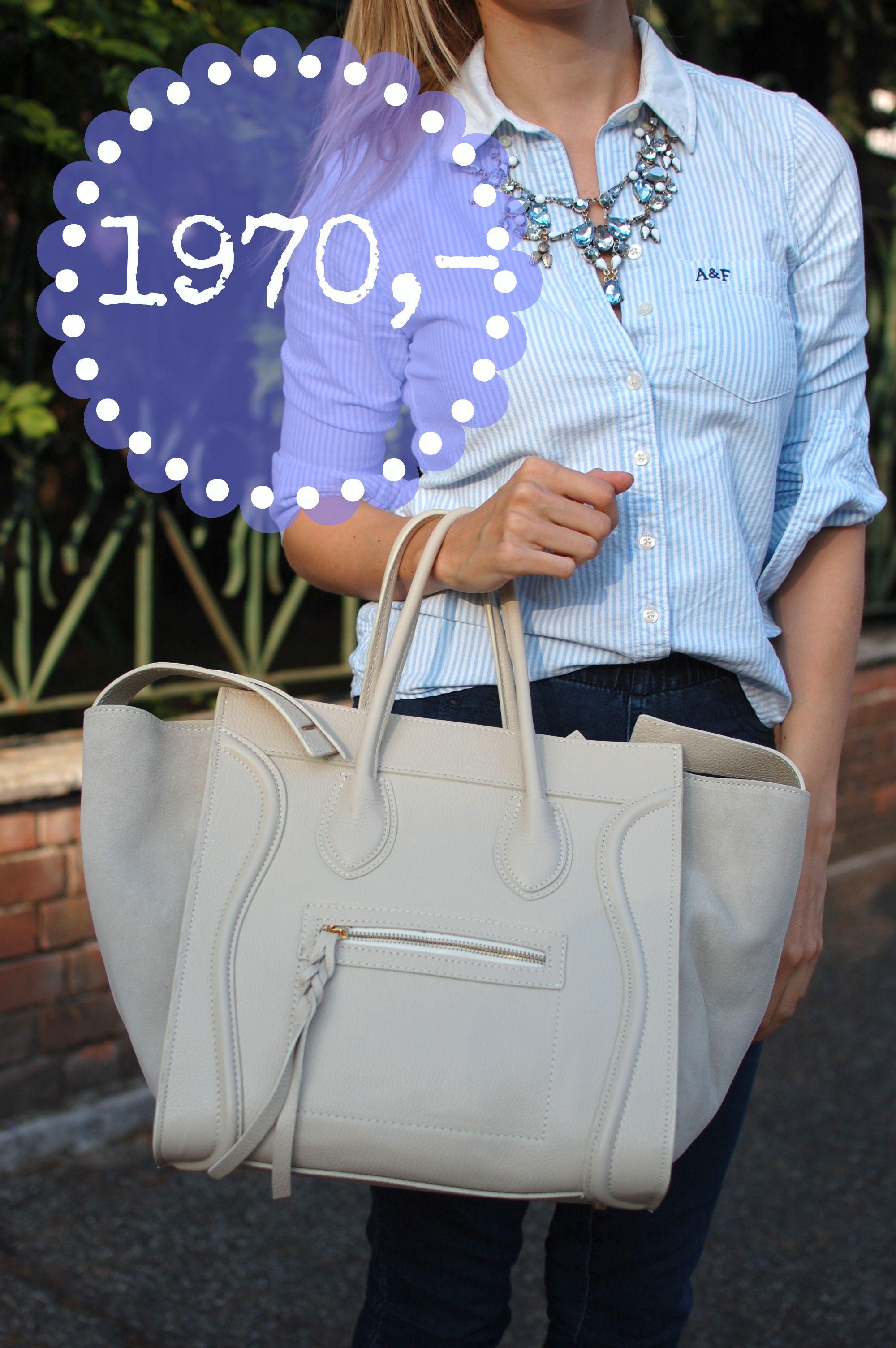 Krémová kožená kabelka vyrobená v Itálii, cena pro Facebook fanoušky jen 1970 Kč Sledujte Facebook Siena Style