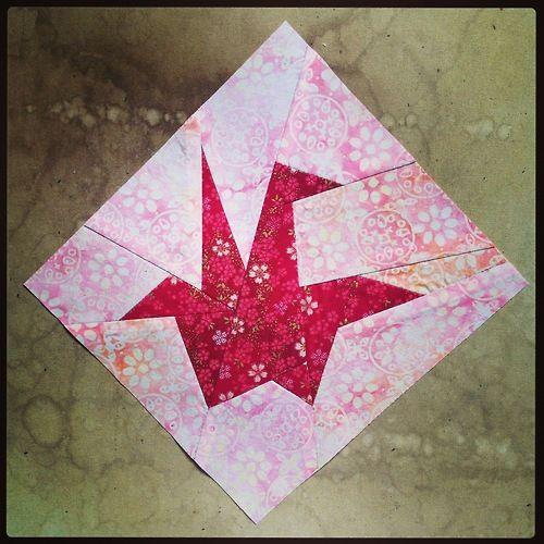 Origami Paper Crane Quilt Block Quilts Really Paper