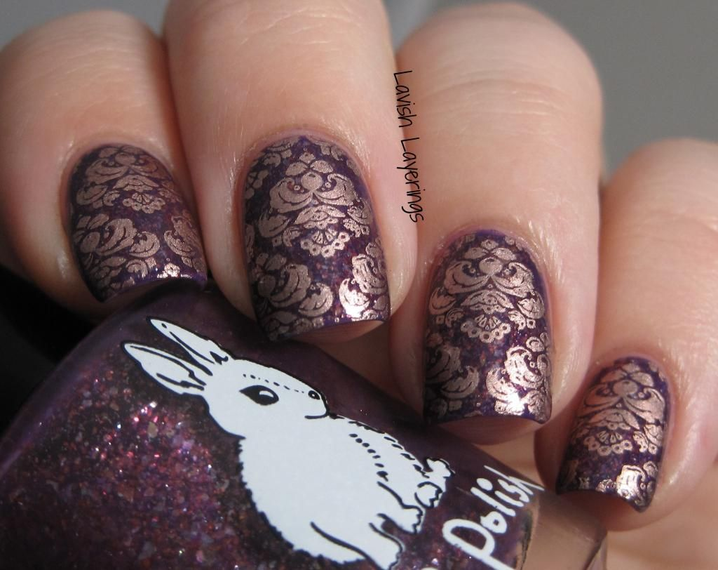 Guest Post from Lavish Layerings - Hare Polish Love You To Pieces ...