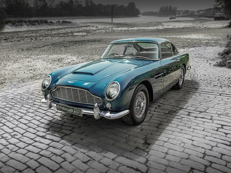 Why The Aston Martin DB Is A Stunner At Any Speed Classic Cars - Classic aston martin for sale