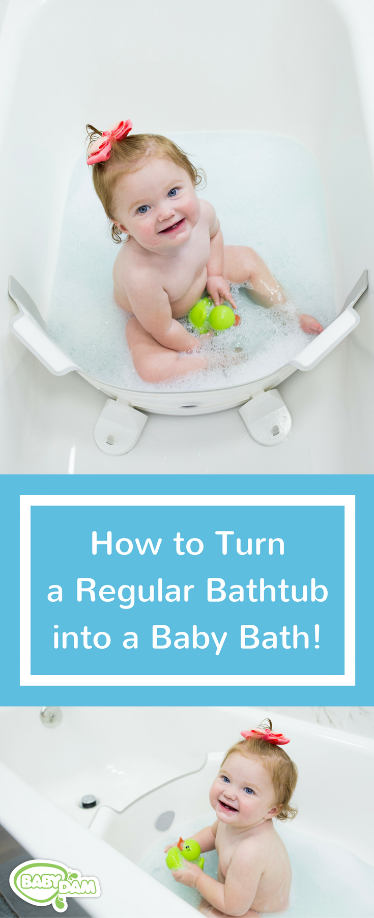 Turn your family bathtub into the perfect, safe space for baby in ...