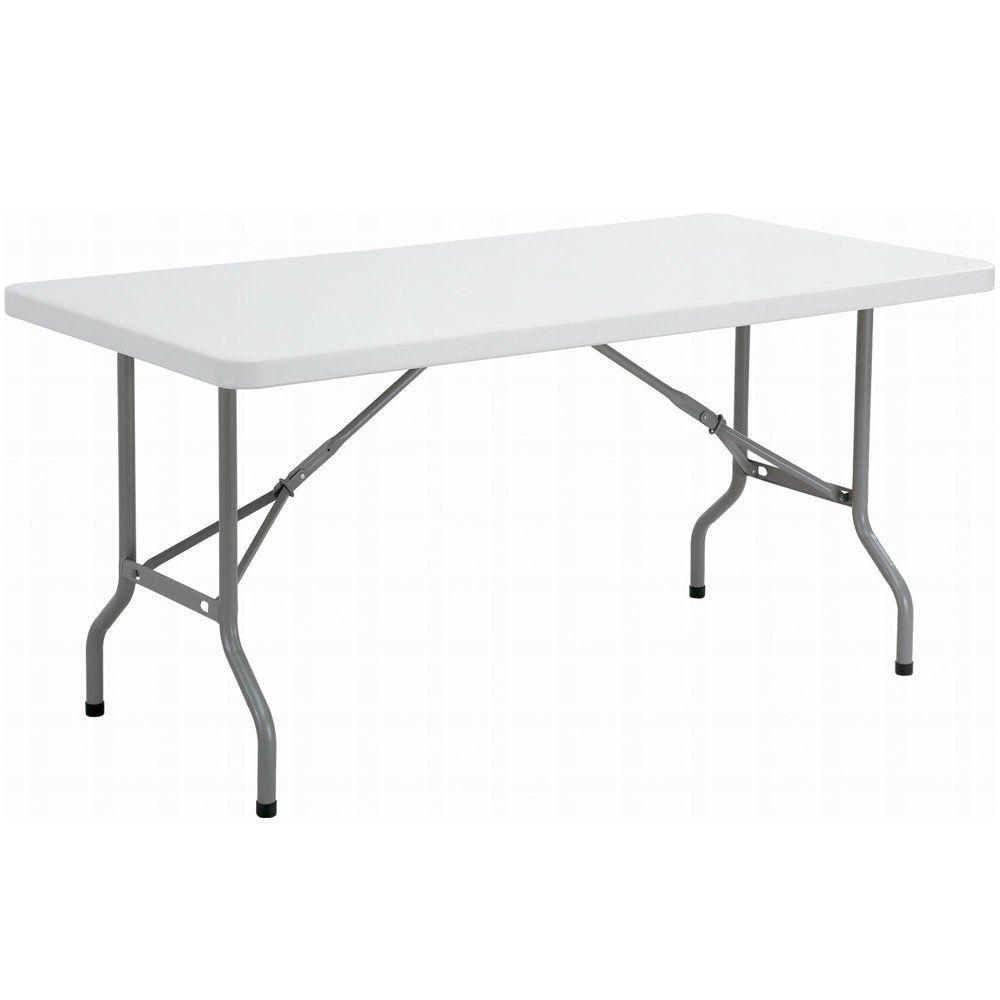 6ft Folding Table Rectangular Super Tough Folds In Half With Carry Handle By Folding Tables Uk Amazon Co Uk Kitchen Home Folding Table Garden Table