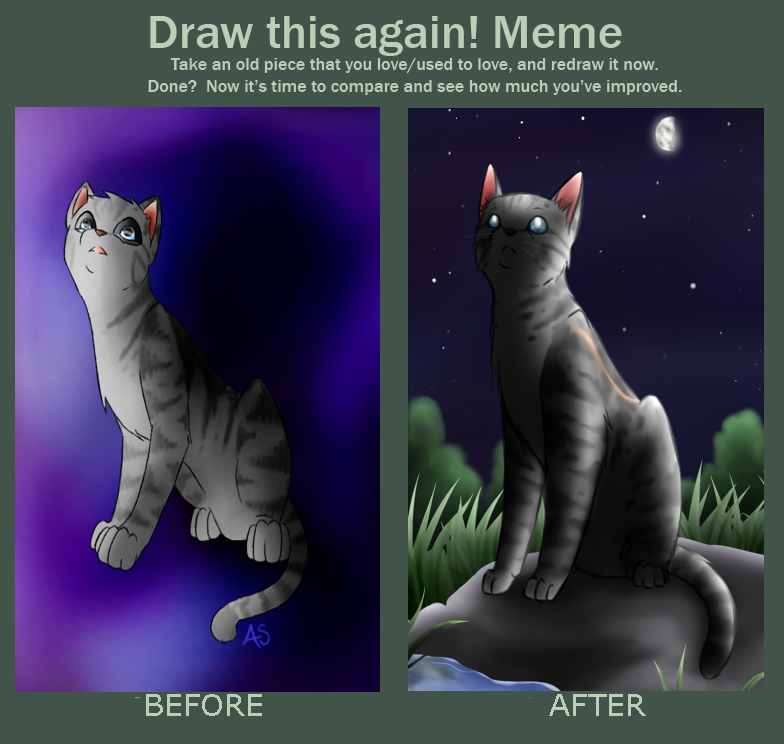 Before And After By Annmy On Deviantart Warrior Cats Pinterest