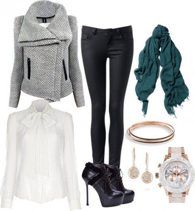 25 Cute Winter Outfit Ideas for 2018 - Outfits for Winter | Stylinu0026#39; | Pinterest | Polyvore ...