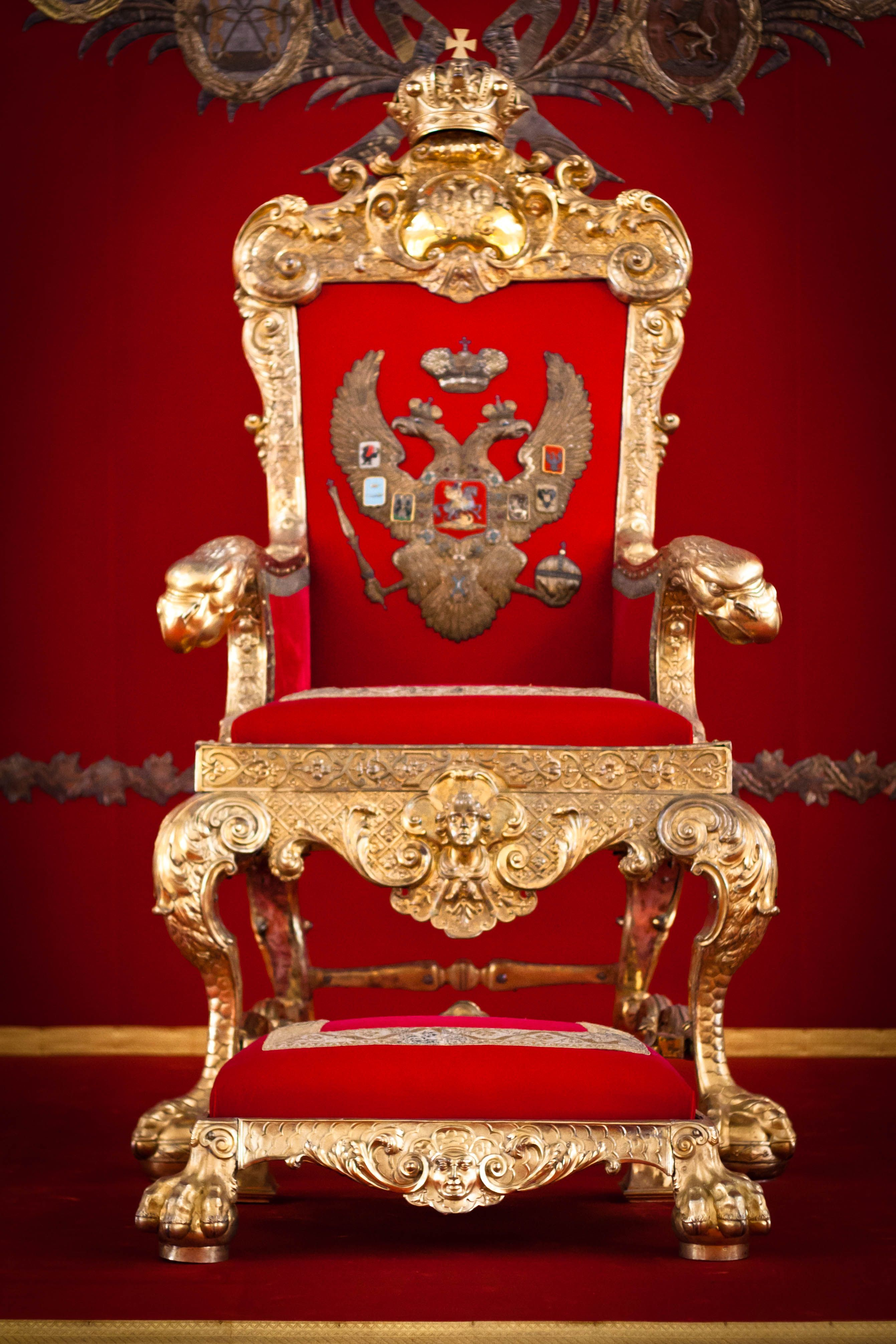 red throne hermitage