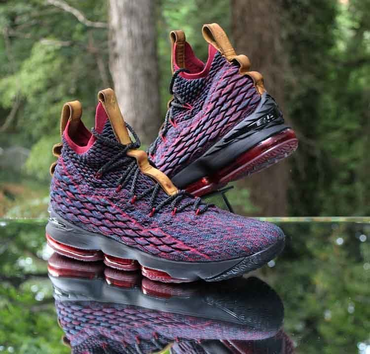 e7a31b9be0da78 Nike LeBron 15 New Heights Dark Atomic Teal Black Red 897648-300 Men s Size  14  Nike  BasketballShoes