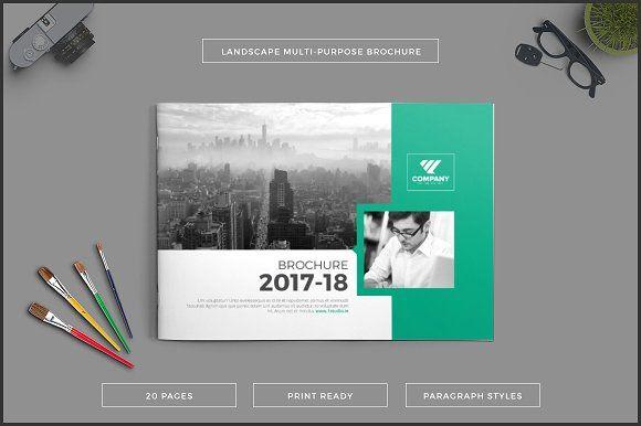 Multipurpose Landscape Brochure Creativework  Brochure Design