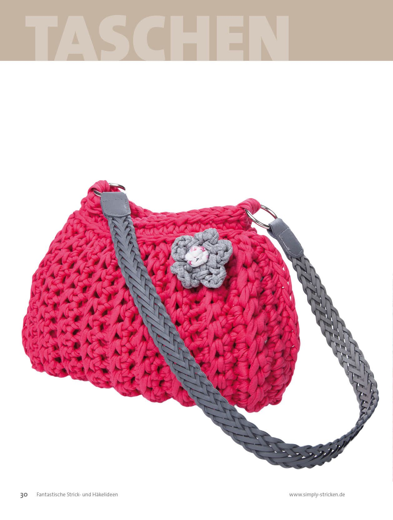 Textilgarn hoooked zpagetti httpbpa sportpresse the rossi bag is very easy to make looks great and is a perfect gift for every crochet novice bankloansurffo Gallery