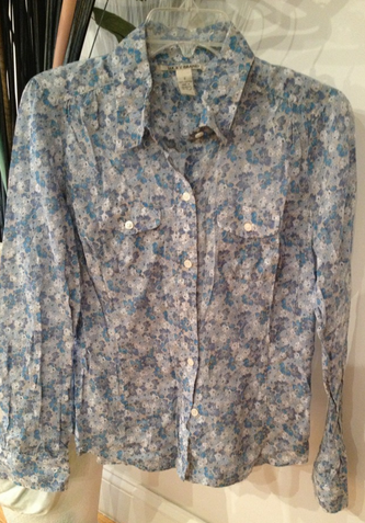 Small Lucky Brand Button down  Light weight & great for the fall  $80 in stores? Get it for $10 from us