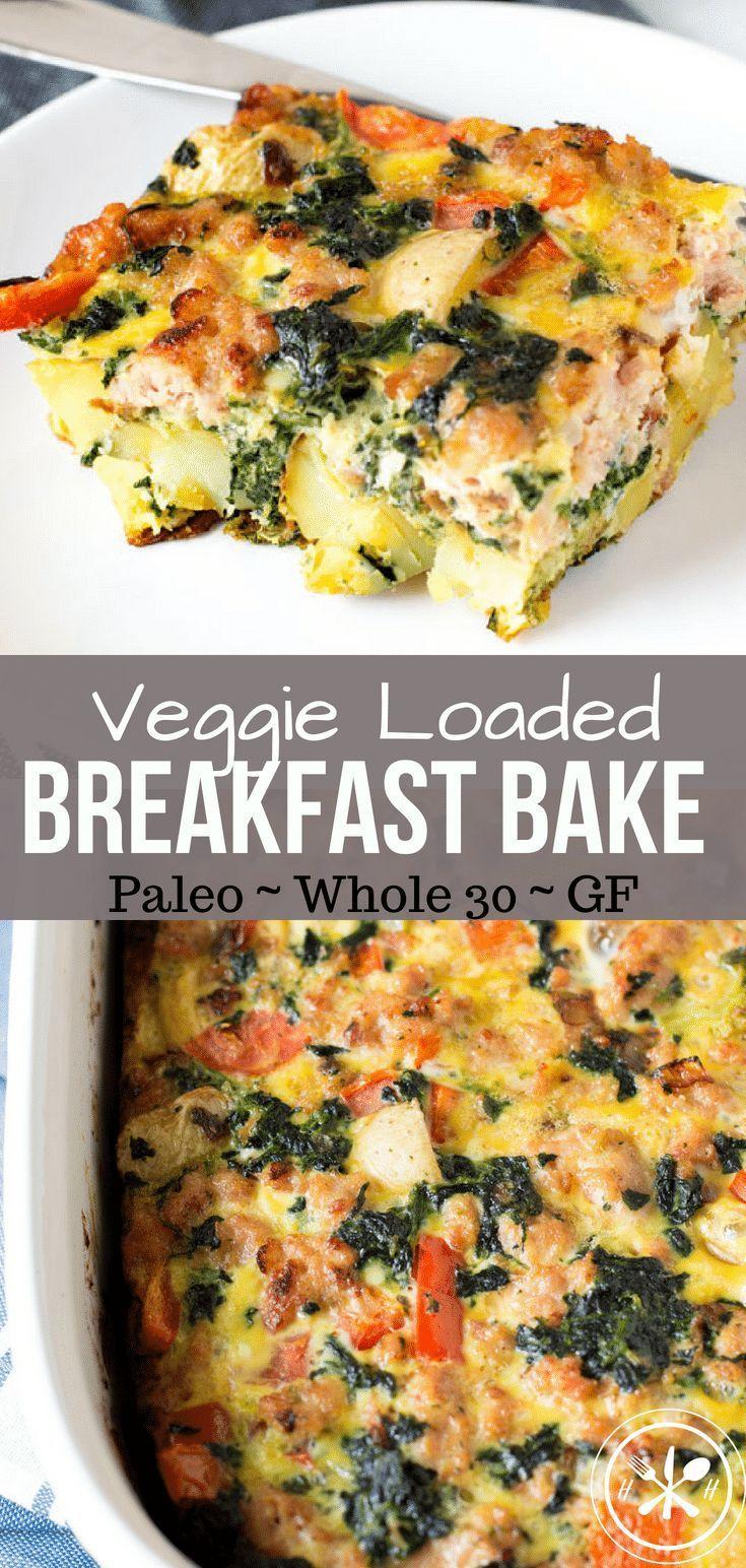 Photo of Veggie Loaded Potato Breakfast Bake – Paleo & Whole 30