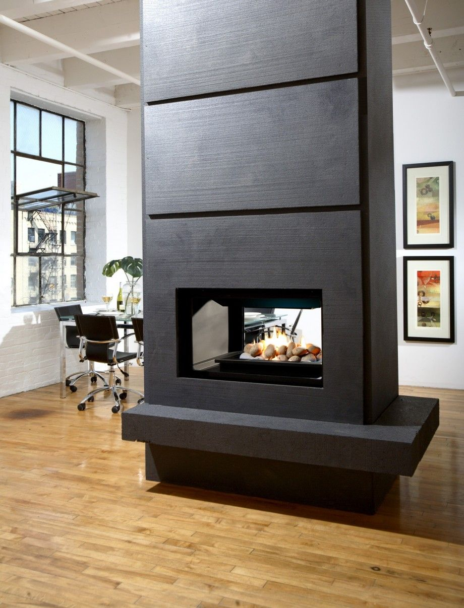Gas fireplace room divider google search bedroom hideaway
