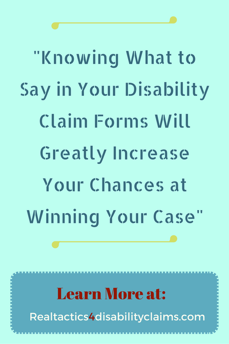 How To Properly Complete Your Disability Claim Forms  Social