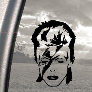 David Bowie Black Decal Ziggy Stardust Truck Window Sticker - Car window stickers amazon uk
