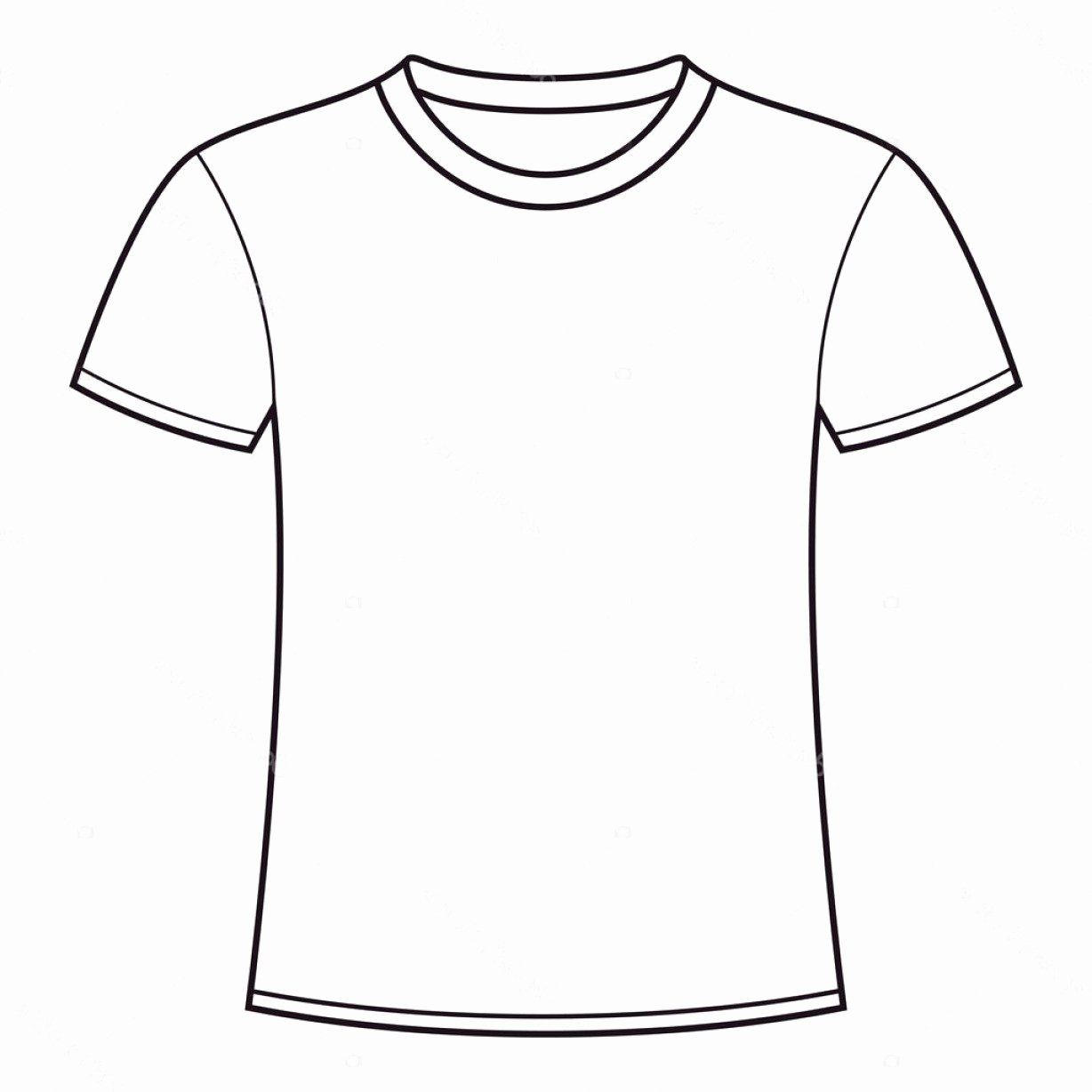 Download Blank Tshirt Template Unique Stock Illustration Blank T Shirt Template Peterainsworth Shirt Template T Shirt Design Template Tshirt Template