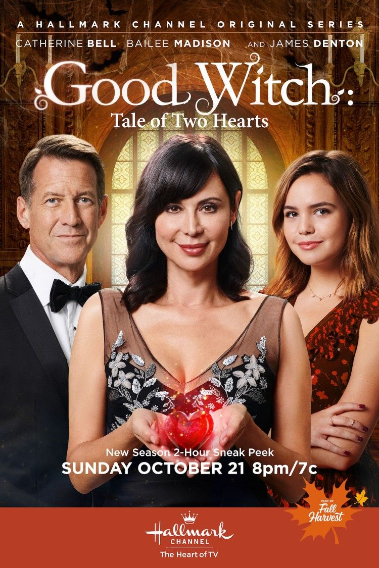 Halloween is a super thrilling night of the year and will be upon us before you know it. Good Witch~Tale Of Two Hearts~Halloween Special~2018~Catherine Bell, Bailee Madison and James ...