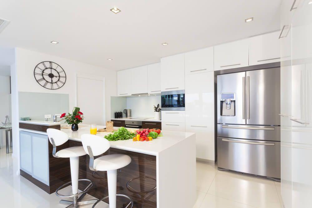 111 Luxury Kitchen Designs Love Home Designs Kitchen Design Modern Small White Modern Kitchen Luxury Kitchen Design