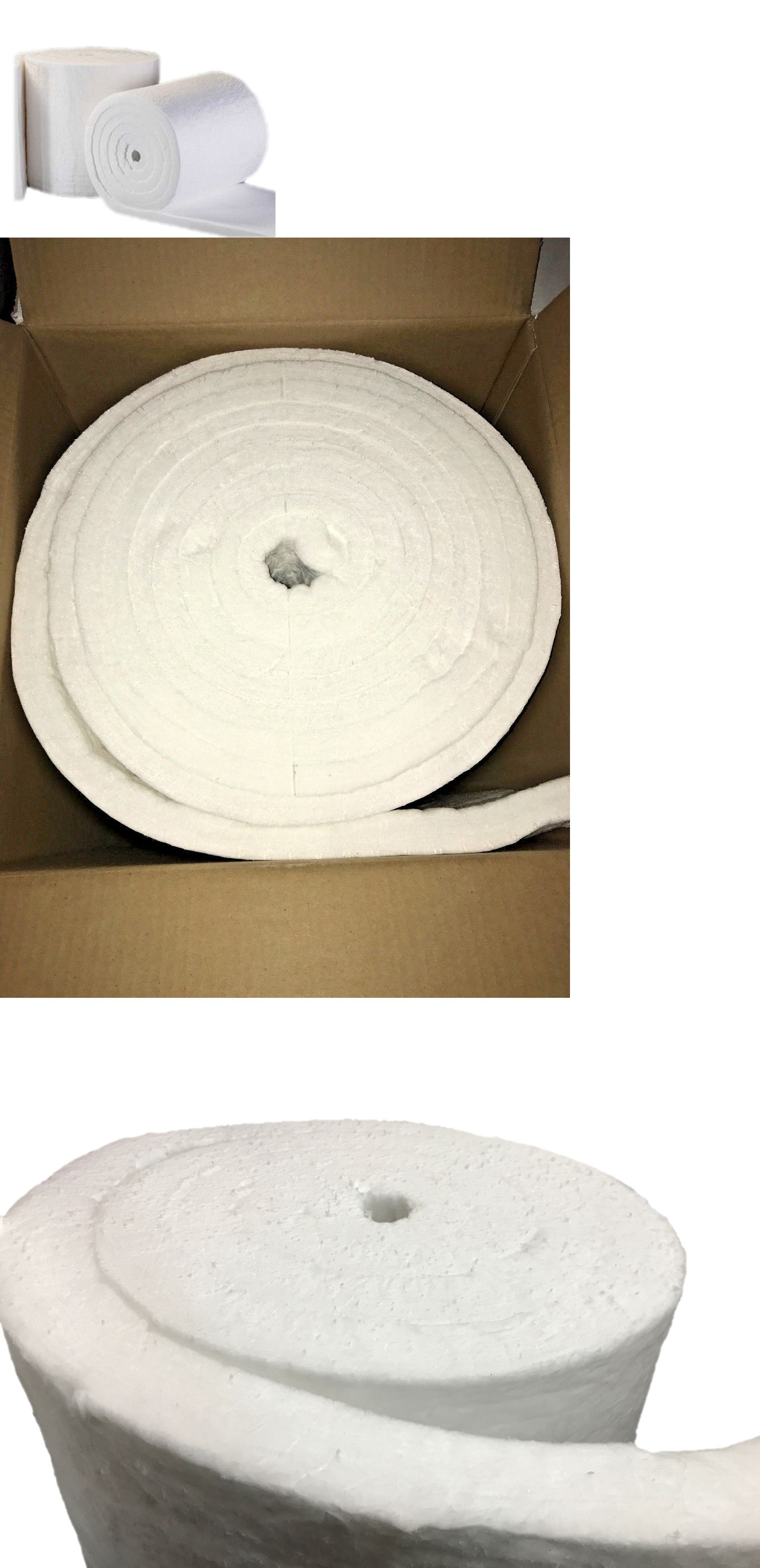 Other Ceramics And Pottery 183307 Ceramic Fiber Insulation Blanket 2300f 8lb 1 Inch X 24 Inch X 8 Foot Ro Ceramic Fiber Ceramic Fiber Blanket Fiber Insulation