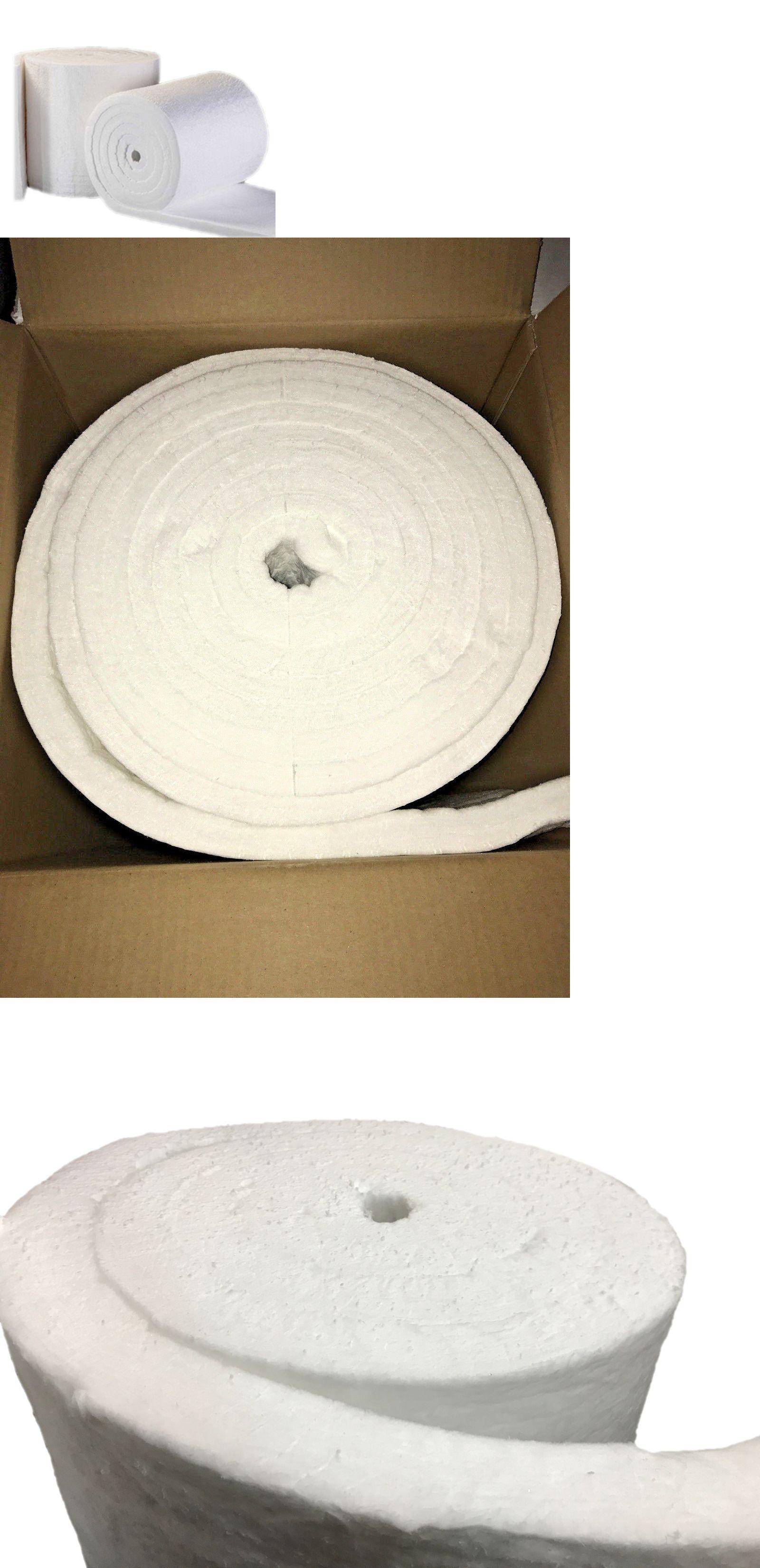 Other Ceramics And Pottery 183307 Ceramic Fiber Insulation Blanket 2300f 8lb 1 Inch X 24 Inch X 8 Foot Ro Ceramic Fiber Ceramic Fiber Blanket Fiber Insulation
