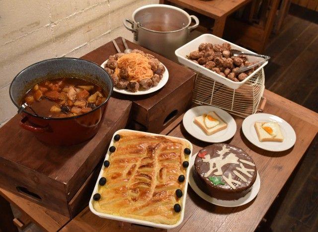 ニシンのパイが食べられる ジブリ飯再現 映画の食事会 レポート ジブリ飯 ミニチュアフード ニシン
