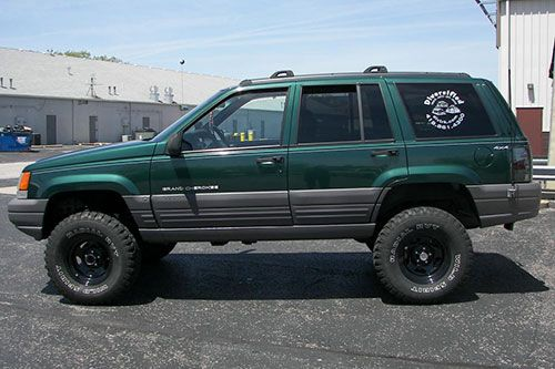 93 98 Jeep Grand Cherokee Zj Zone Lifts Deals Rockridge 4wd Fora De Estrada Estrada