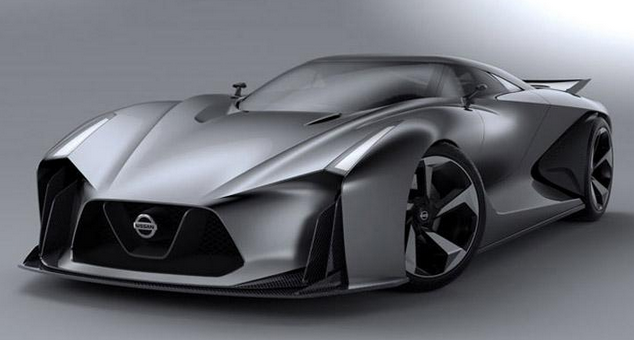 Nissan Gt R New Generation A Coupe Hybrid Supercar