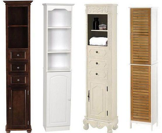 Narrow Bathroom Cabinet Whereibuyit Com Tall Bathroom Storage