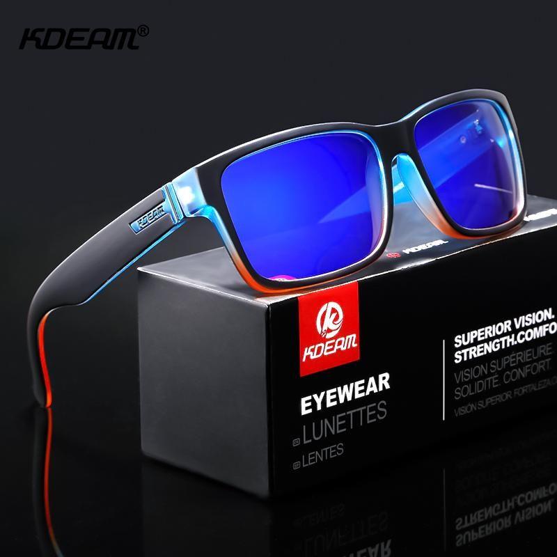 Square Sunglasses Polarized Brand Designer Driving Outdoor Sports Glasses Eyewea