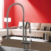 Found it at Wayfair - Single Handle Single Hole Pot Filler Kitchen Faucet with Pull-Down Spray