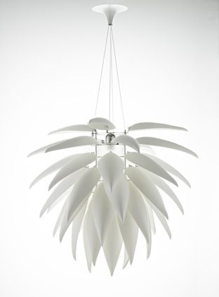 Aloe Blossom White Chandelier Jeremy Cole Contemporary Porcelain Suspension Ceiling Light Available At Suite N Ceiling Lights Lighting Inspiration Roof Light