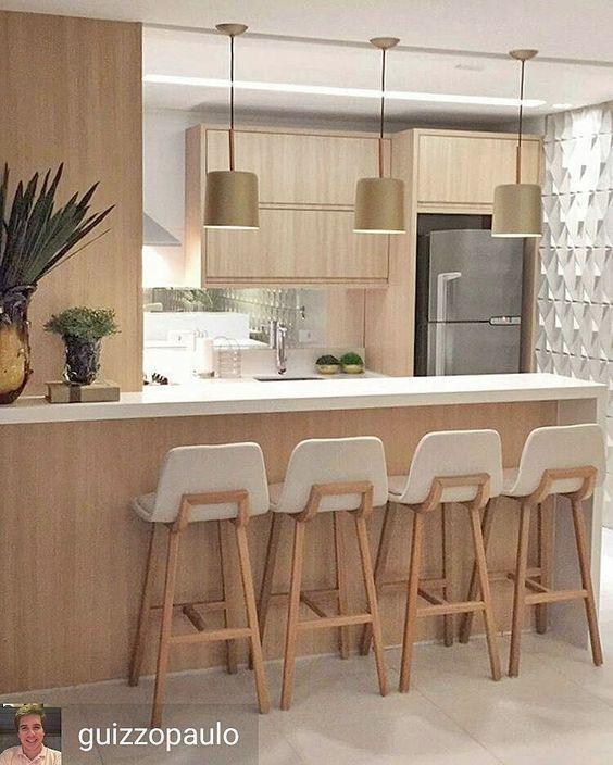 Pin de Pamela Cis en Cocinas | Pinterest | Cocinas pequenas modernas ...