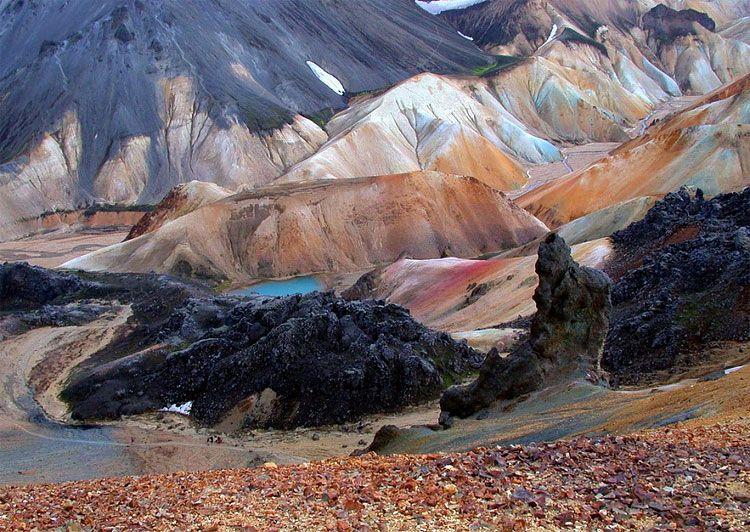 Landmannalaugar, a National Park of Iceland