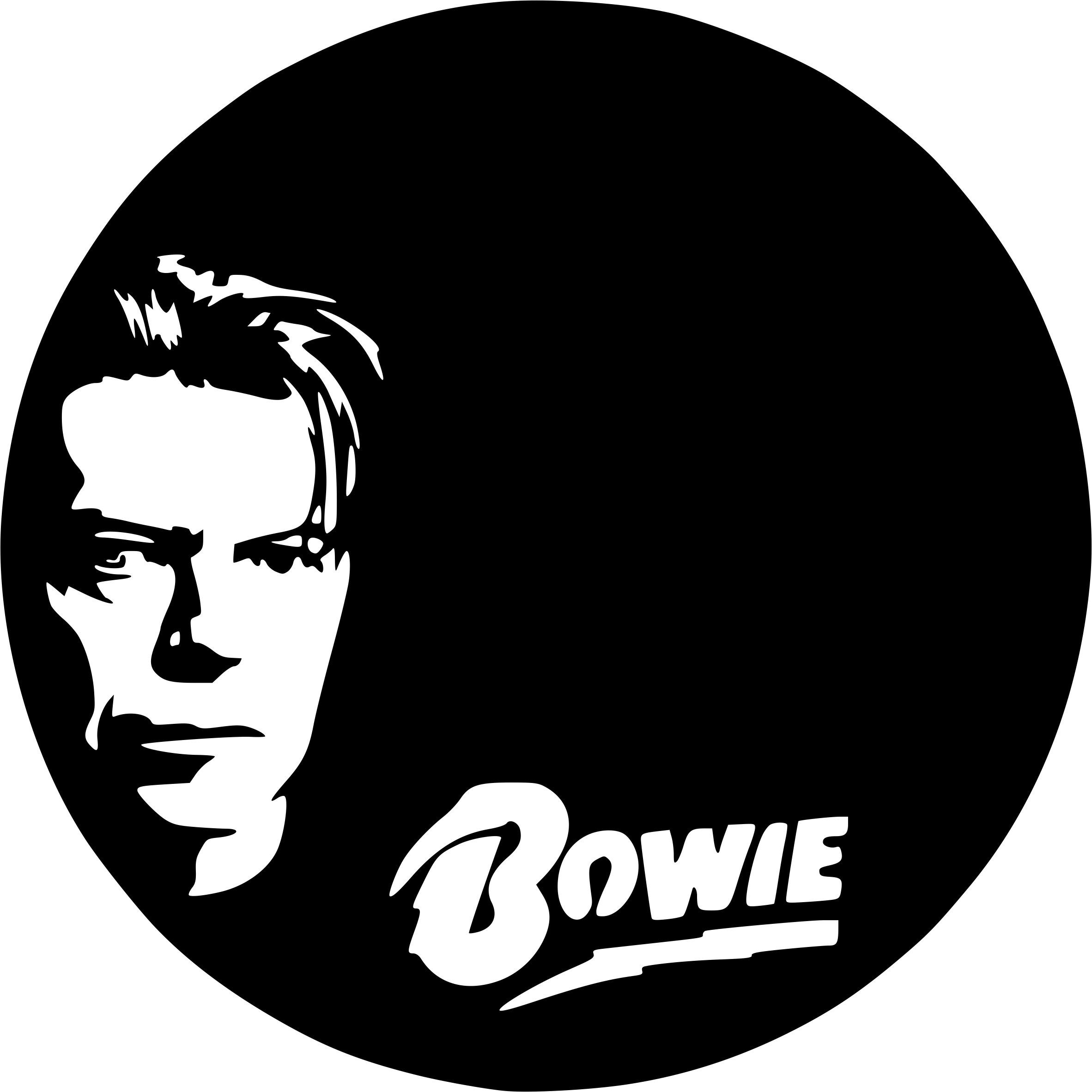 Various Artists Celebrity Icon Badge Wall Art Vinyl