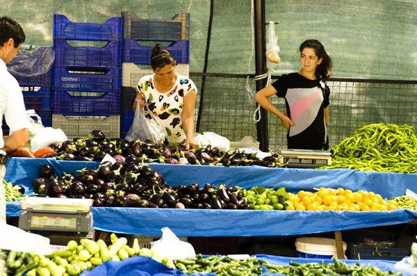 Market, Akyarlar, Bodrum Peninsula