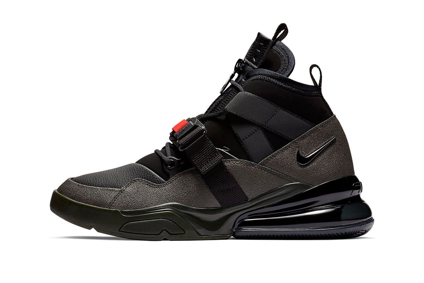 Nike Air Force 270 Utility Straps Up in
