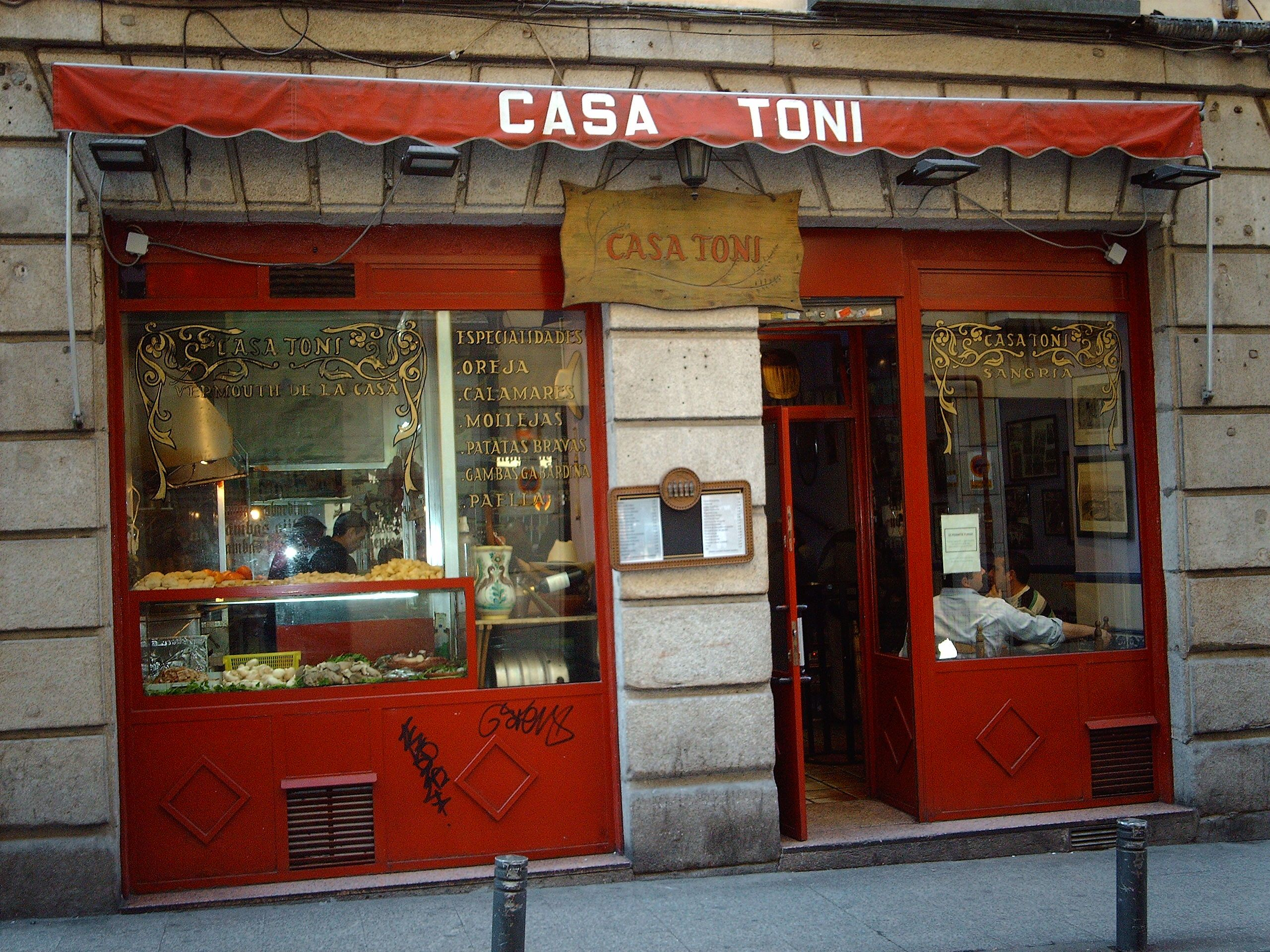 madrid spain home of the best tapas bar in the world casa toni
