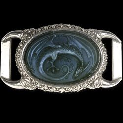 Soul Of A Dragon Leather Buckle Belt