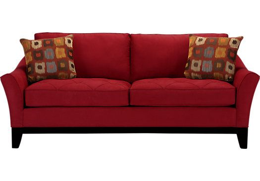 Shop for a Cindy Crawford Home Rosemere Cardinal Sofa at Rooms To