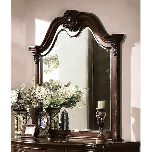 Found it at www.dcgstores.com - ♥ ♥ Dasan Mirror with Dark Cherry Wood Frame ♥ ♥