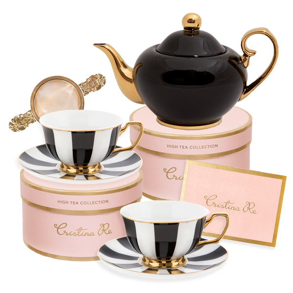 Ebony Tea for 2 Gift Set #teapots