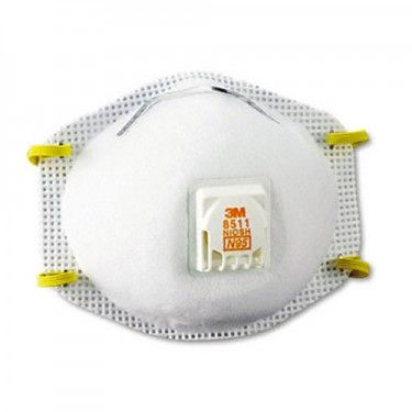 Dust Mask With Exhale Valve Good For When The Dust Gets