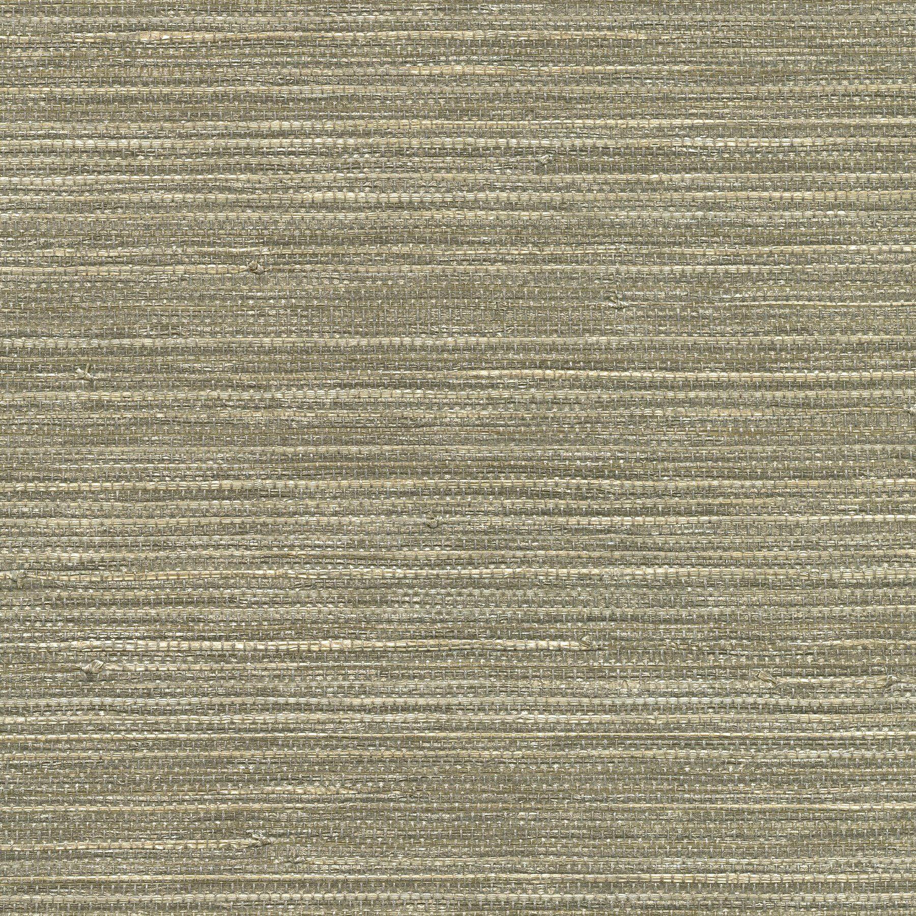 Tagum Grey grasscloth wallpaper, Grey trellis wallpaper