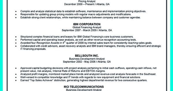 Cool Credit Analyst Resume Example from Professional share