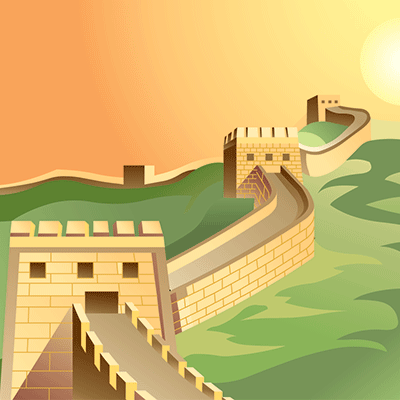 What Landmark Should You Visit You Should Visit The Great Wall Of China You Like Esoteric Things You Fi Great Wall Of China City Artwork Famous Architecture