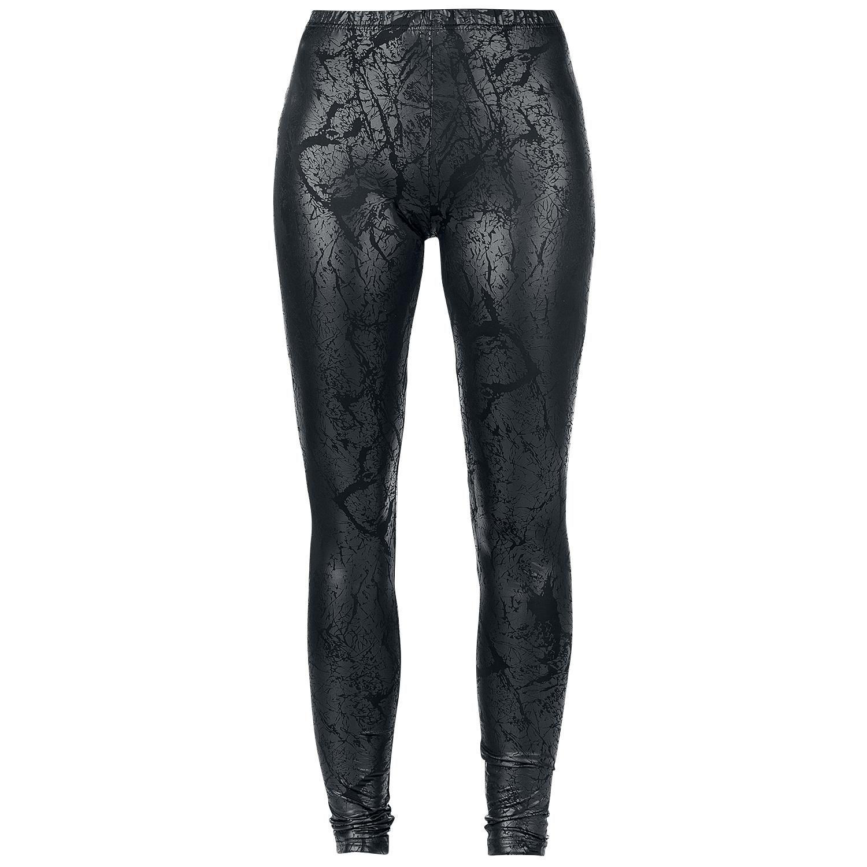 19,99e koko L Krakelee Leggings - Legginsit - Black Premium by EMP